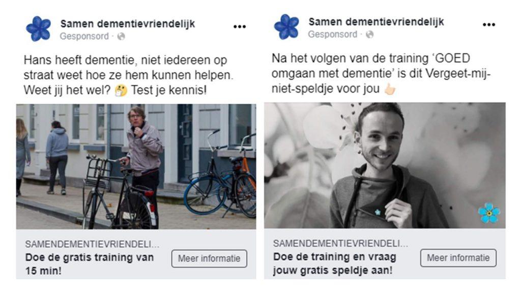 Samen Dementievriendelijk Facebook uitingen - Stroom