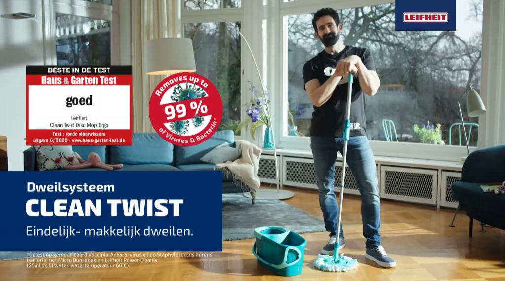 Leifheit commercial